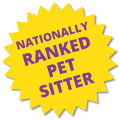 Nationally Ranked Pet Sitter